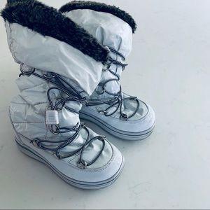 Khombu girls wildcats winter snow boots